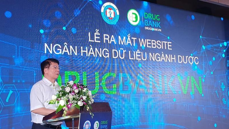 Thứ trưởng Bộ Y tế Trương Quốc Cường phát biểu tại buổi lễ.
