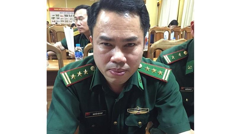 Thượng tá biên phòng 3 lần được phong quân hàm trước thời hạn