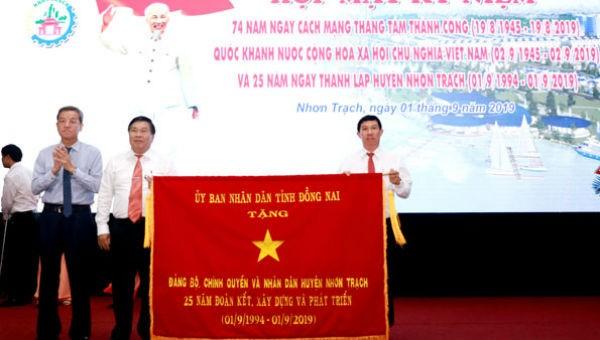 Hân hoan kỷ niệm 25 năm thành lập huyện Nhơn Trạch