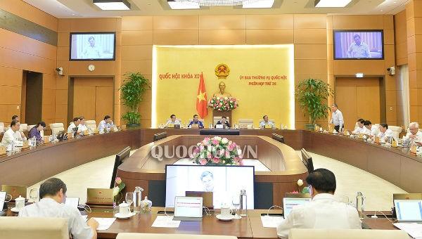 Nhiều nội dung quan trọng trong Kỳ họp thứ 37 của UBTVQH