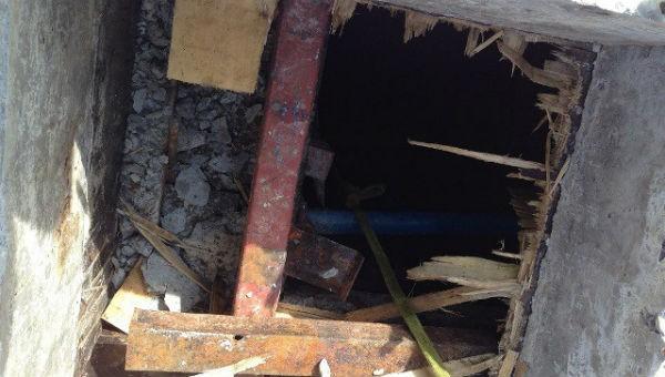 Dỡ cốt pha dưới tầng hầm khách sạn, hai công nhân tử vong
