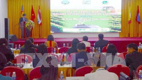 Quang cảnh Lễ khai mạc Hội thảo.