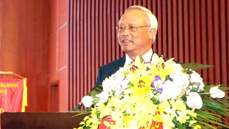 Ủy viên Trung ương Đảng, Phó Chủ tịch Quốc hội Uông Chu Lưu tới dự và phát biểu tại Hội nghị.