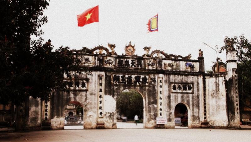 Đền Kiếp Bạc một trong những ngôi đền linh thiêng có sự xuất hiện của tín ngưỡng thờ nhà Trần