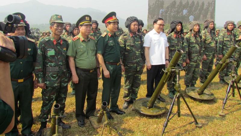 Hà Nội diễn tập khu vực phòng thủ HN-19