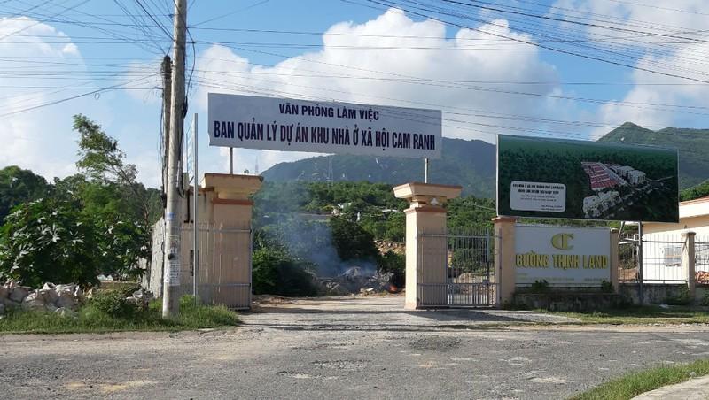 Dự án xây dựng nhà ở xã hội Cam Ranh do Công ty TNHH Thành Mỹ làm chủ đầu tư có nhiều dấu hiệu sai phạm.