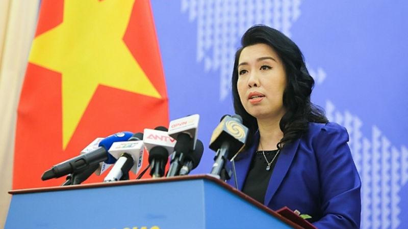 Bà Lê Thị Thu Hằng - Người phát ngôn Bộ Ngoại giao Việt Nam.