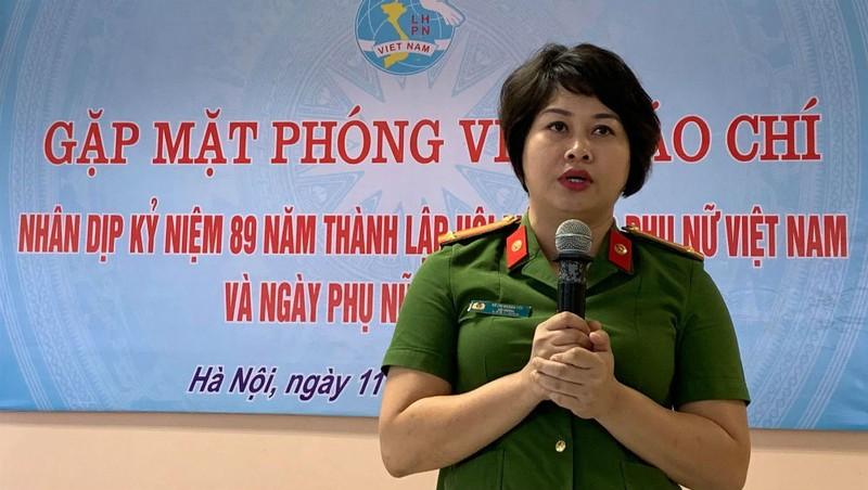 Trung tá Vũ Thị Hoàng Yến