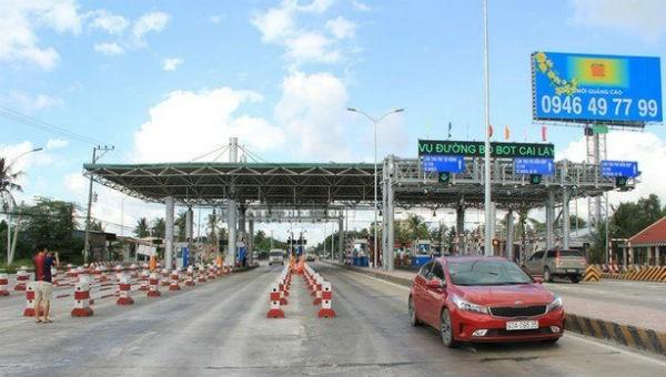 Cấm xe khách, xe tải đi trên QL1 đoạn qua Cai Lậy