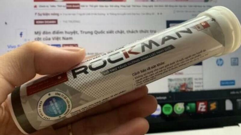 Cục An toàn Thực phẩm (Bộ Y tế) khuyến cáo một số website quảng cáo sản phẩm Rockman có dấu hiệu lừa dối người tiêu dùng.