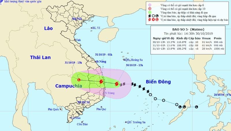 Khẩn trương ứng phó áp thấp nhiệt đới mạnh lên thành bão