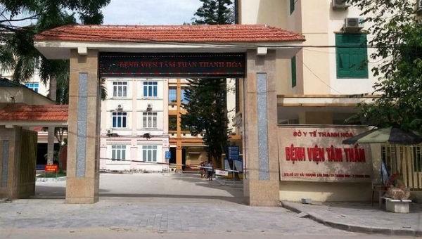 Bệnh viện Tâm thần Thanh Hóa.