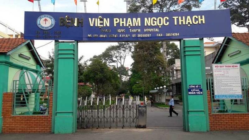Bệnh viện Phạm Ngọc Thạch.
