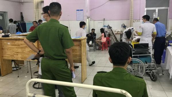 Sau 3 ngày cấp cứu tại bệnh viện, Trung úy Tân đã qua đời. Ảnh Báo Long An.