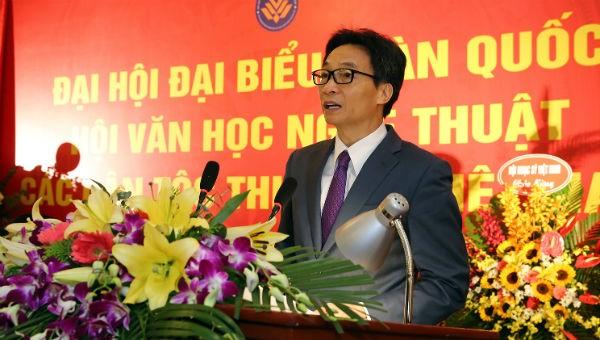 Phó Thủ tướng Vũ Đức Đam phát biểu tại đại hội