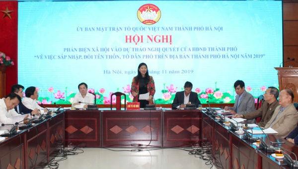 Hà Nội dự kiến giảm 2.824 thôn, tổ dân phố sau sáp nhập