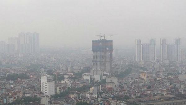 Chất lượng không khí ở Hà Nội nhiều lần bị cảnh báo ở mức xấu