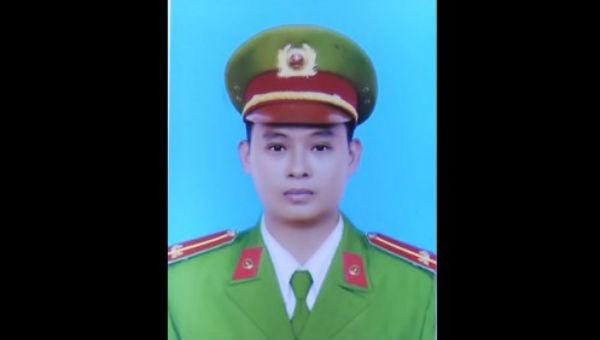 Trung úy Tống Duy Tân hi sinh khi làm nhiệm vụ.