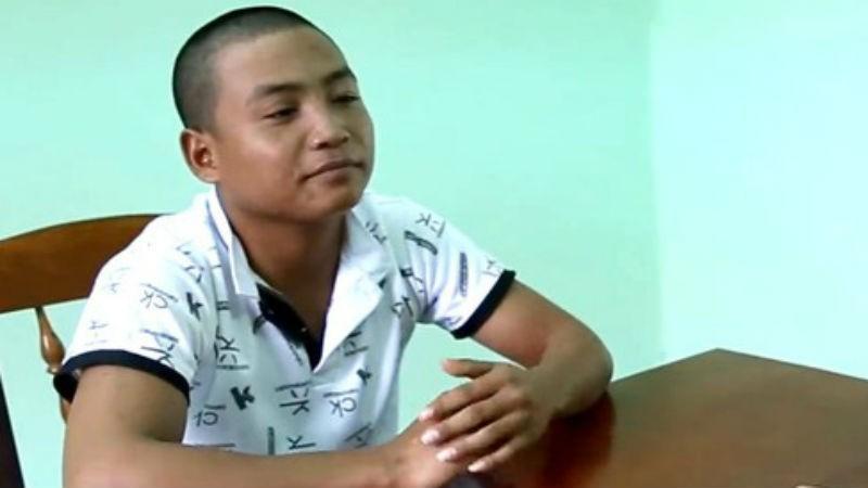 Bo Xuân Phẩm tại cơ quan điều tra.