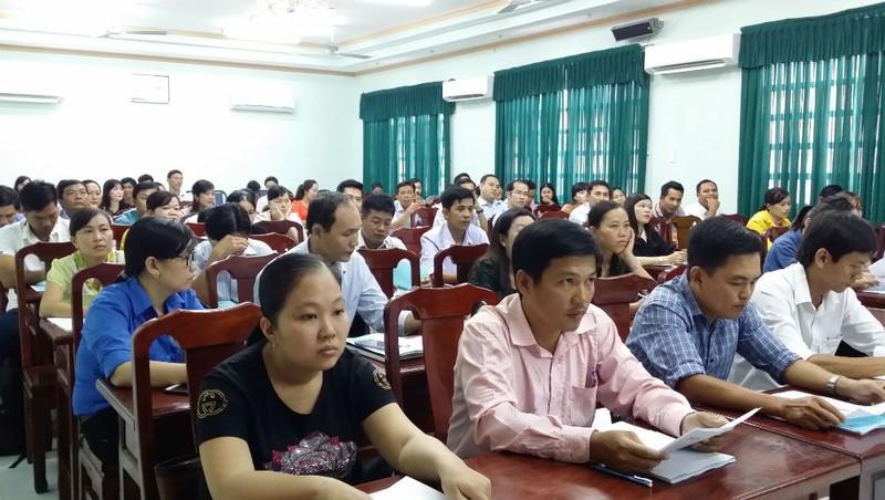 Tập huấn kiến thức về chăm sóc sức khỏe sinh sản vị thành niên cho giáo viên tại Sóc Trăng