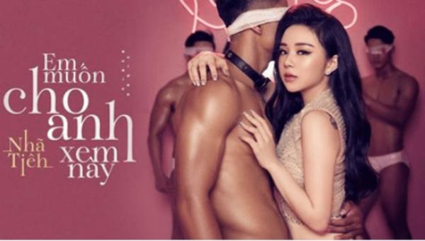 MV 18+ mới bị gỡ bỏ của Nhã Tiên đầy rẫy những cảnh gợi dục.