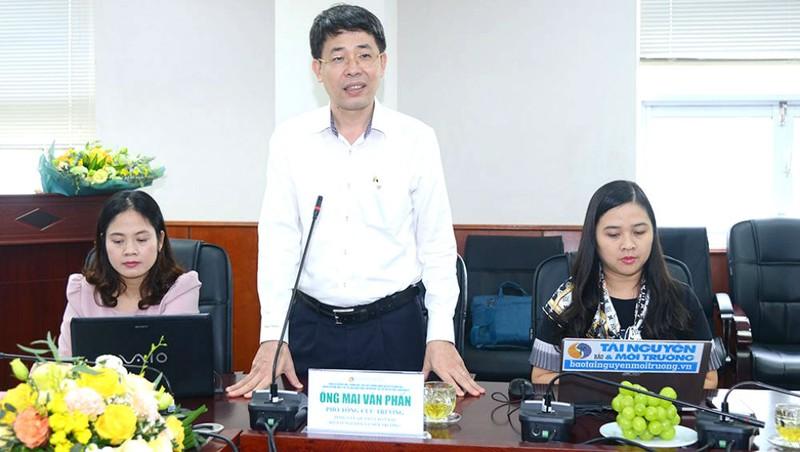 Ông Mai Văn Phấn, Phó Tổng cục trưởng Tổng cục Quản lý đất đai.