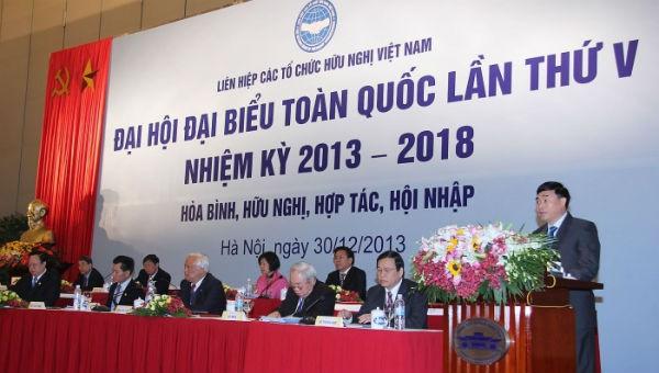 Đại hội lần thứ V Liên hiệp các tổ chức hữu nghị Việt Nam