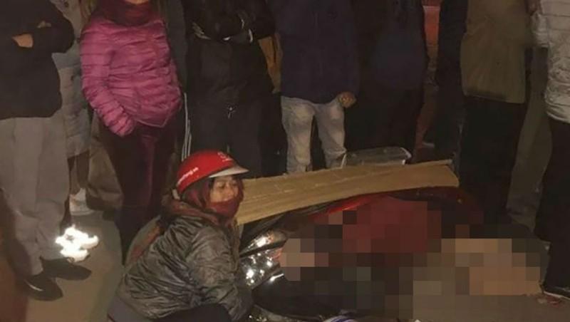 Đi thăm người ốm, nữ giáo viên bị xe tải cuốn vào gầm tử vong