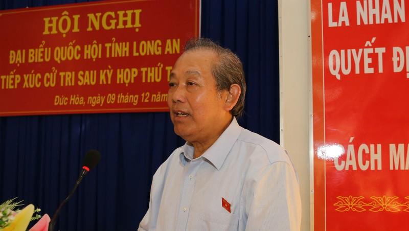 Phó Thủ tướng thường trực Trương Hòa Bình: Một số cán bộ hư hỏng tham ô ngân sách, đất đai