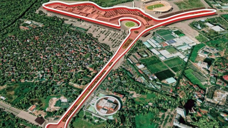 Đường đua Việt Nam được đánh giá có độ khó cao.