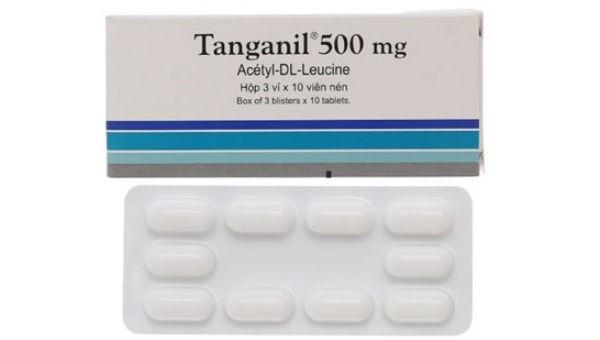 Cảnh báo thuốc Tanganil 500mg nghi ngờ giả