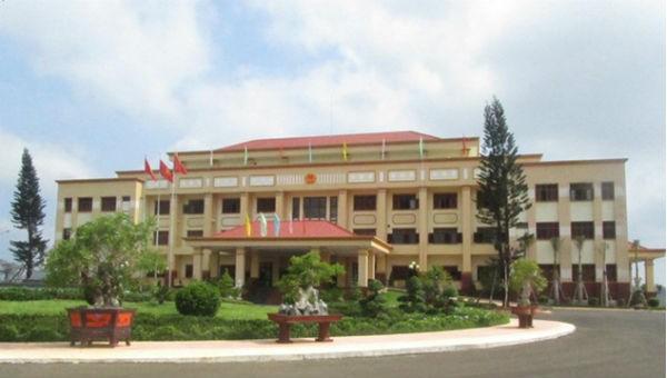 Trụ sở UBND tỉnh Đắk Nông.