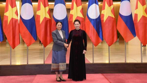 Thúc đẩy quan hệ hữu nghị truyền thống, hợp tác toàn diện Việt - Lào