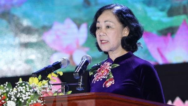 Chủ tịch Hội Hữu nghị Việt Nam-Cuba Trương Thị Mai