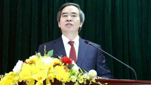 Ủy viên Bộ Chính trị, Bí thư Trung ương Đảng, Trưởng Ban Kinh tế Trung ương Nguyễn Văn Bình