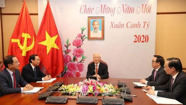 Điện mừng kỷ niệm 70 năm quan hệ ngoại giao Việt Nam – Trung Quốc