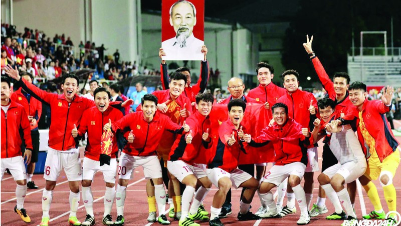 Đội tuyển bóng đá nam U22 vô địch SEA Game 30