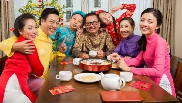 Tết là dịp để các thành viên trong gia đình sum vầy ấm cúng