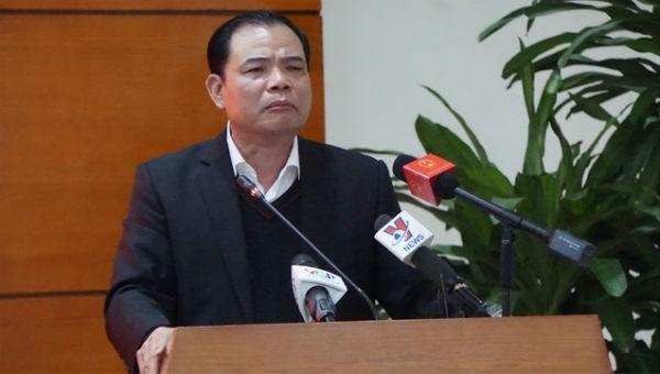 Bộ trưởng Nông nghiệp và Phát triển nông thôn Nguyễn Xuân Cường tại Hội nghị