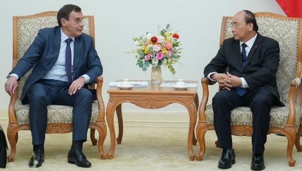 Thủ tướng Nguyễn Xuân Phúc tiếp Chủ tịch Cơ quan Chống tham nhũng LB Nga Chobotov Andrey Sergeevich