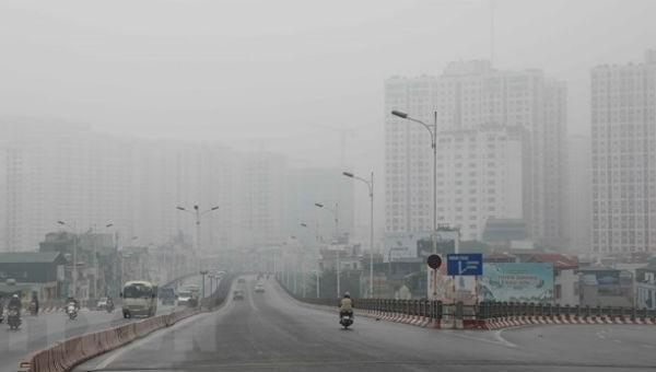 Chỉ số chất lượng không khí ở Hà Nội vẫn ở mức có hại cho sức khỏe trong nhiều ngày qua.