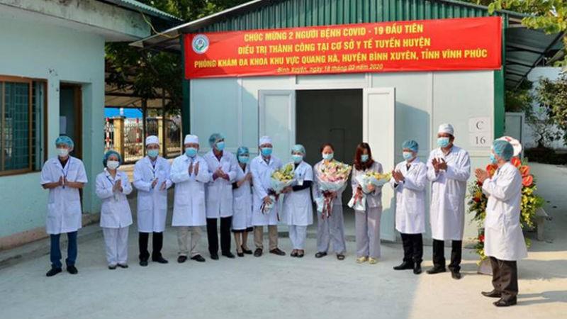 Ấm lòng y tế Việt Nam