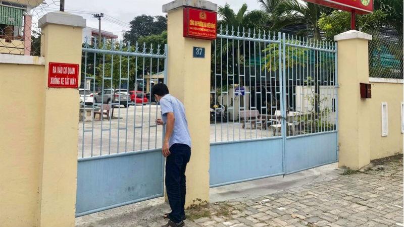 Trụ sở làm việc Công an phường Nại Hiên Đông.