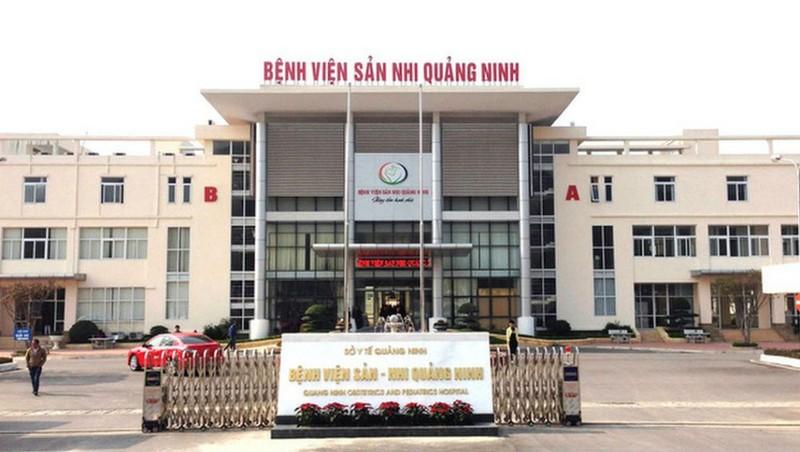Cháu Kh đang được cấp cứu tại BV Sản Nhi Quảng Ninh với tiên lượng nặng.