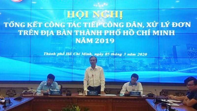 Phó Chủ tịch UBND TPHCM Ngô Minh Châu phát biểu tại hội nghị.
