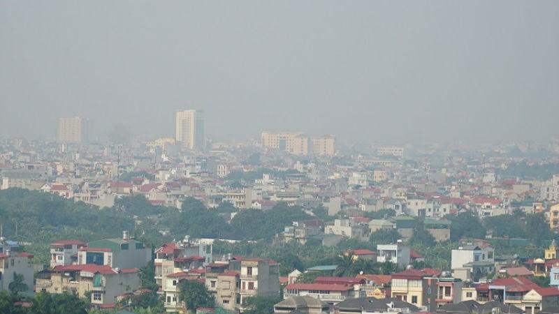 Chất lượng không khí ở Hà Nội tiếp tục ô nhiễm