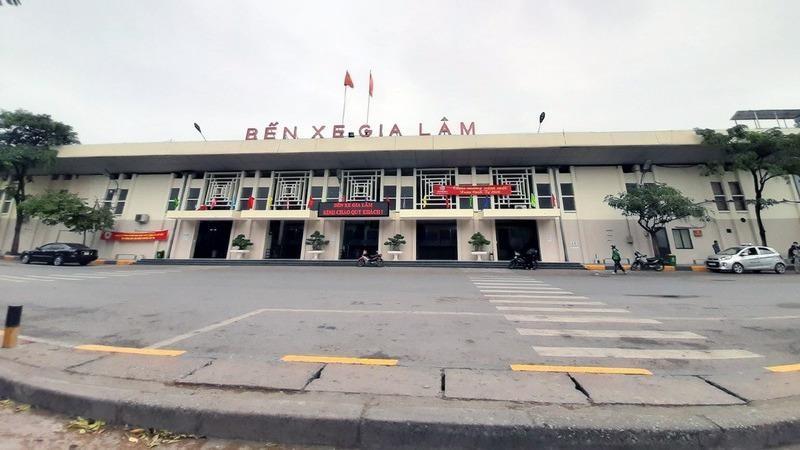 Hình ảnh bến xe Hà Nội ngày đầu hạn chế xe khách