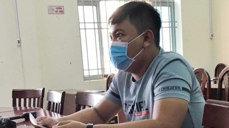 Đ bị phạt vì tung tin TP HCM bị phong tỏa 14 ngày. Ảnh Zing.