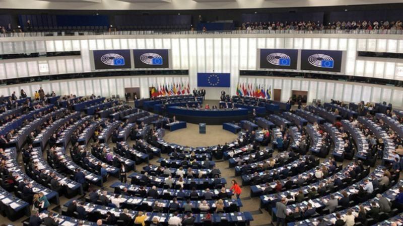 Toàn cảnh một phiên họp Nghị viện châu Âu tại Strassbourg, Pháp - Ảnh: TTXVN.