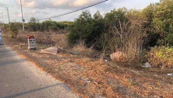 Hiện trường vụ tai nạn khiến 2 người tử vong.